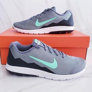 Nike Flex Experience RN 4 Wide Running Grey Size